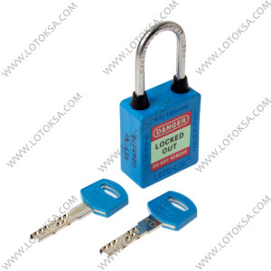 Safety Lockout Padlock BLUE