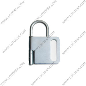 Hasp Steel SHORT Shackle Butterfly type