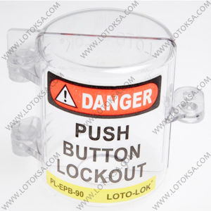 Electrical Push Button Lockout, Large
